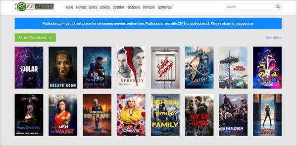 Putlocker.cl is one of the top best Rainierland Alternative Websites to Watch Movies.