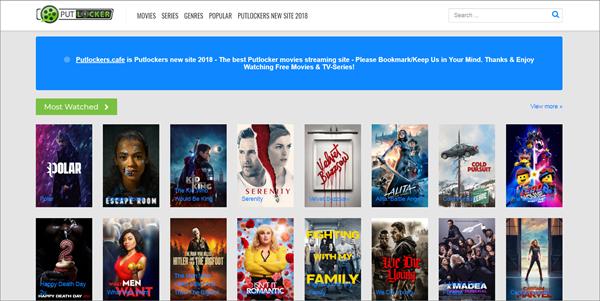 Putlockers.cafe is one of the top best Rainierland Alternative Websites to Watch Movies.