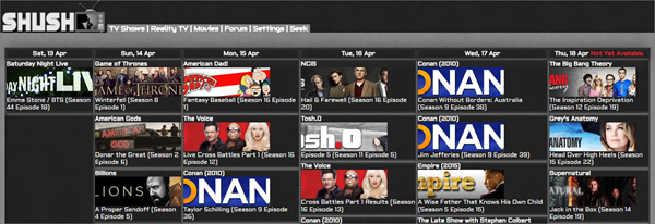 Shush.se is one of the top best Project Free TV Alternative Websites for Free Video Streaming.