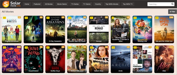 SolarMovie is one of the top best Project Free TV Alternative Websites for Free Video Streaming.