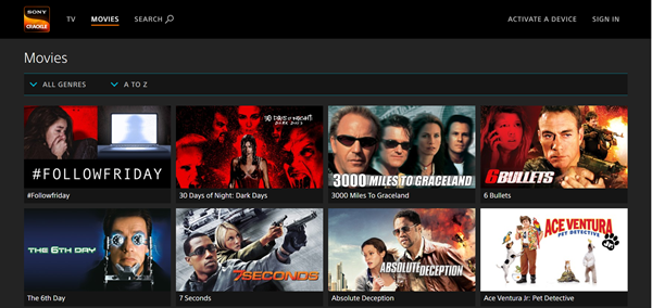 Sony Crackle is one of the top best Project Free TV Alternative Websites for Free Video Streaming.