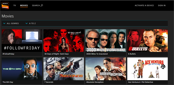 Sony Crackle is one of the bop best Alternatives to 123Movies for You.