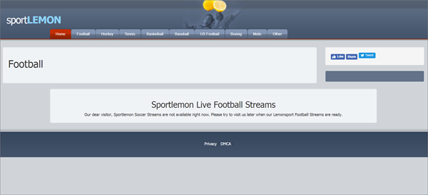 SportLemon is one of the top best Websites Like VipBox to Watch Sports Stuff.