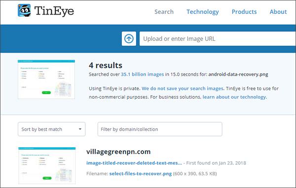 photo match search
