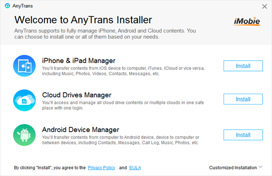 Anytrans is one of the top iTunes Alternatives.