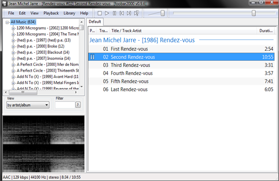Foobar2000 is one of the top iTunes Alternatives.