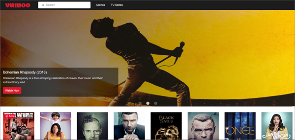 Vumoo is one of the bop best Alternatives to 123Movies for You.