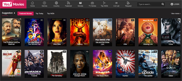 Yes!Movies is one of the top best Project Free TV Alternative Websites for Free Video Streaming.