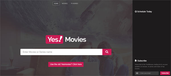 Yes!Movies is one of the bop best Alternatives to 123Movies for You.