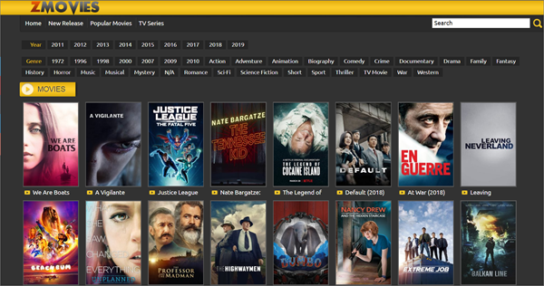 Z Movies is one of the bop best Alternatives to 123Movies for You.