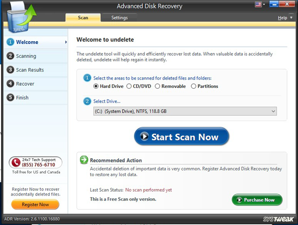Advanced Data Recovery is one of the top best Photo Recovery Software on Windows.