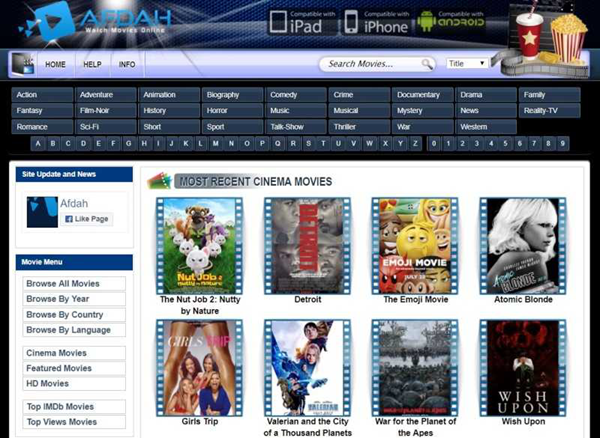 Afdah is one of the top movie4k alternatives sites for you.