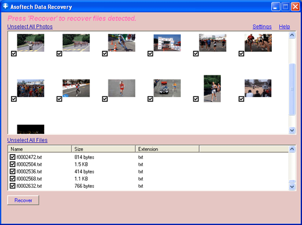 Asoftech Photo Recovery is one of the top best Photo Recovery Software on Windows.