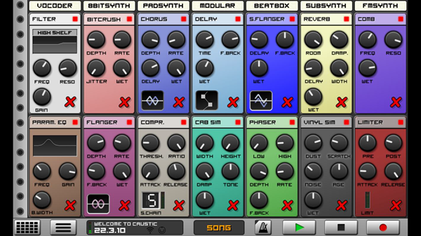 CAUSTIC 3 is one of the best Music Maker App for Android.