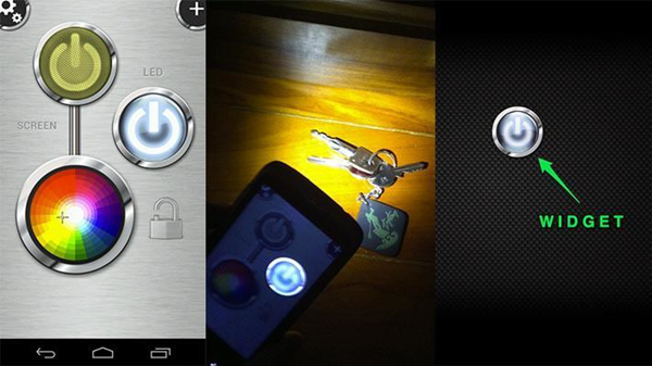 Flashlight HD is one of the Top Flashlight Apps for Android Phones.