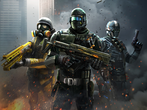 Modern Combat 5 is one of the top best paid Android games.