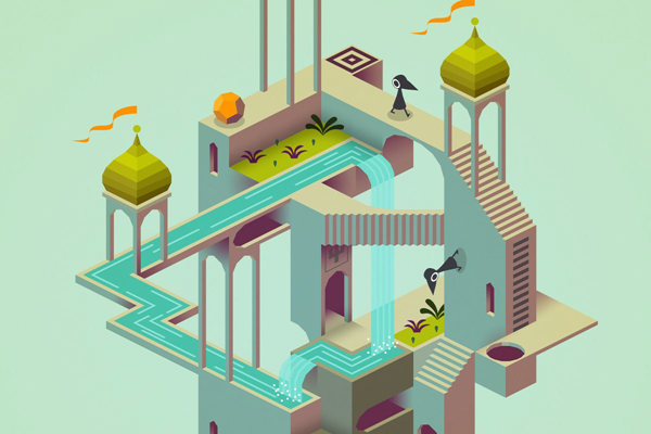 Monument Valley is one of the top best paid Android games.