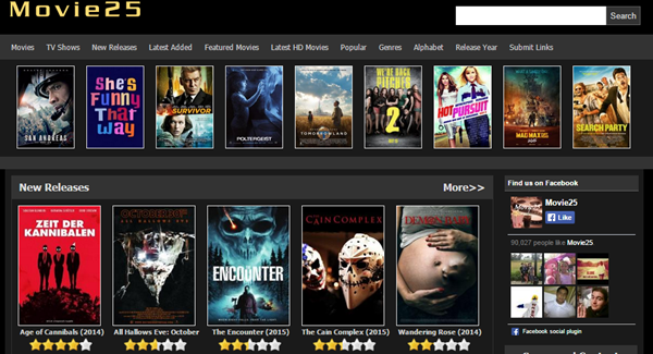 Movie25 is one of the top movie4k alternatives sites for you.