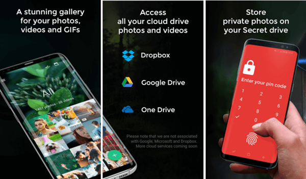 Piktures is one fo the best QuickPic Alternatives For Android Users.