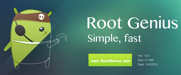 Root Genius is one of the best Alternatives to King Root.