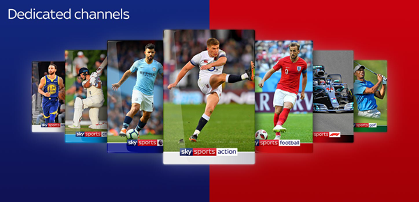 Sky Sports is one of the best Football Live Streaming Sites to Watch Soccer Live on TV.