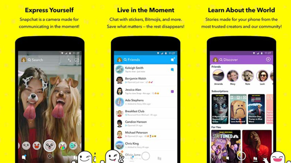 Snapchat is one of the top Voice Changer Apps for Android to change your voice.