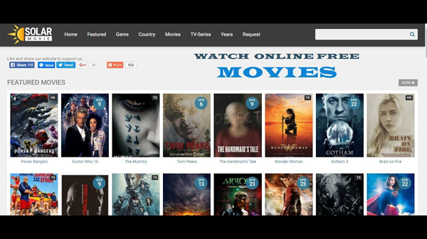 Solar Movie is one of the top movie4k alternatives sites for you.
