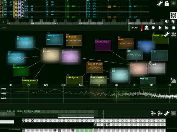 SUNVOX is one of the best Music Maker App for Android.