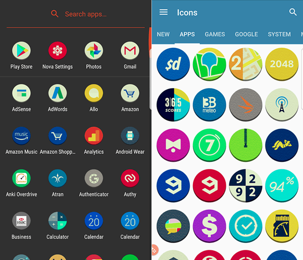 Atran is one of the top Icon Packs for Android.