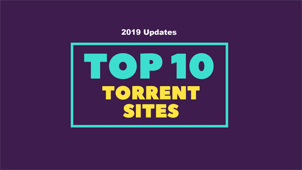 Best Torrent Sites for You.