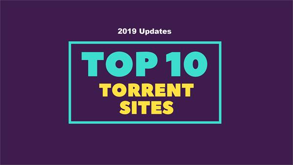 Best Torrent Sites for You.
