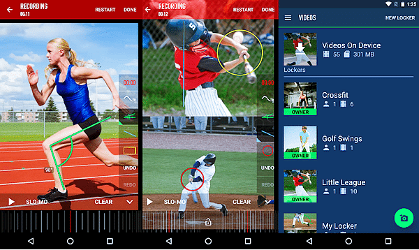 Coach's Eye is one of the top slow motion video Apps for Android.