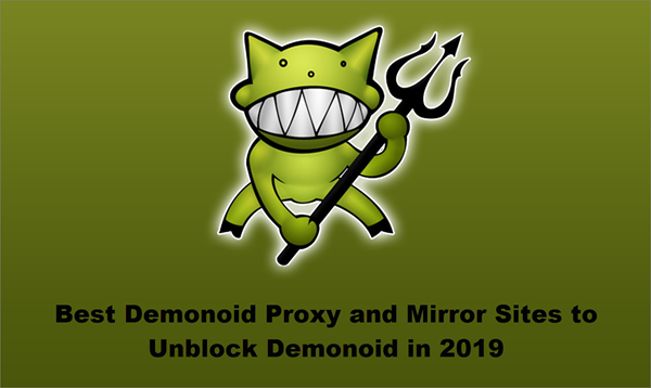 Demonoid Using Proxy and Mirror Sites