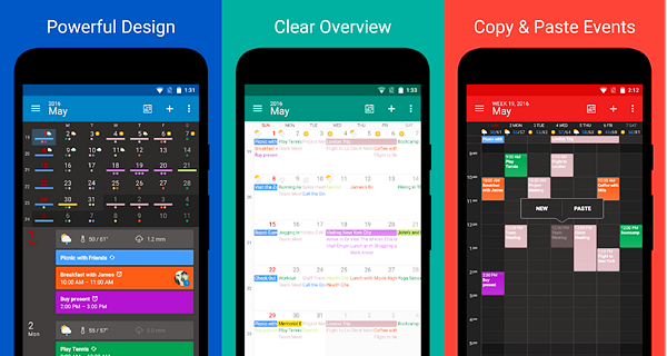 DigiCal Calendar Agenda is one of the best Calendar Apps for Android.