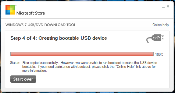 Windows DVD/USB Tool is one of the top USB Bootable Software for Windows.