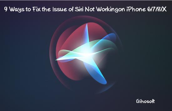 Fix Siri Not Working on iPhone.