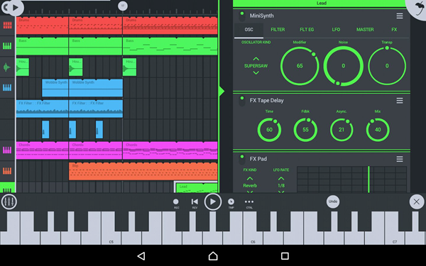 FL STUDIO MOBILE is one of the best Music Maker App for Android.