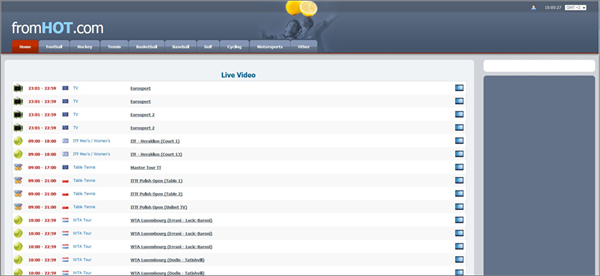 From HOT is one of the best Football Live Streaming Sites to Watch Soccer Live on TV.