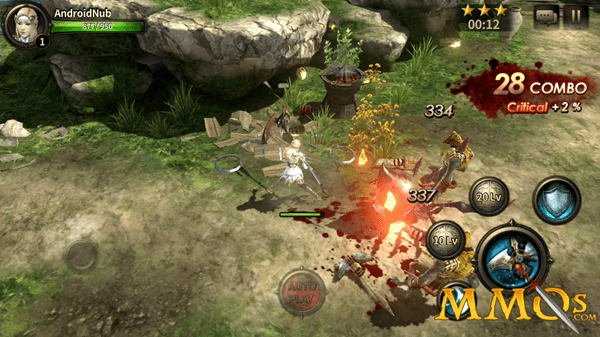 HIT is one of the top MMORPGs for your Android smartphone.