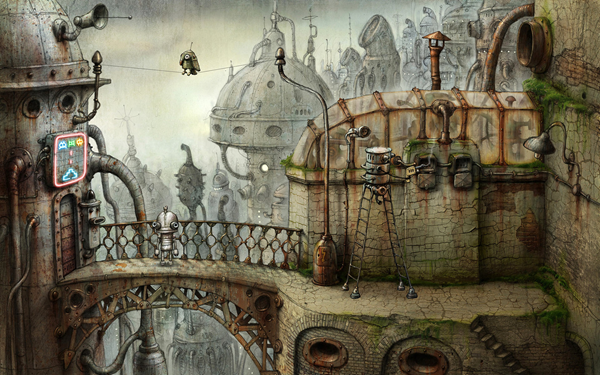 Machinarium is one of the top best paid Android games.