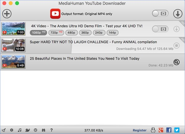 Top 15 YouTube Video Downloader for Mac OS X/macOS [2019]