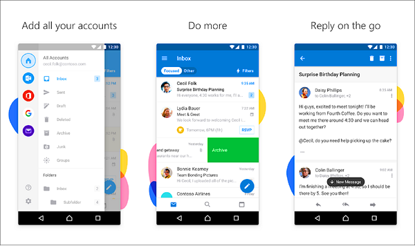 Microsoft Outlook is one of the best Calendar Apps for Android.