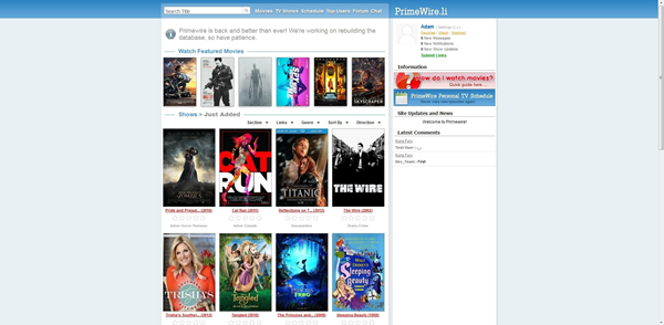 Prime Wire.li is one of the top movie4k alternatives sites for you.