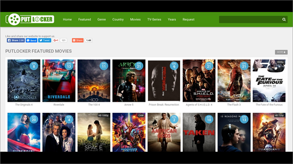 Putlocker is one of the top movie4k alternatives sites for you.