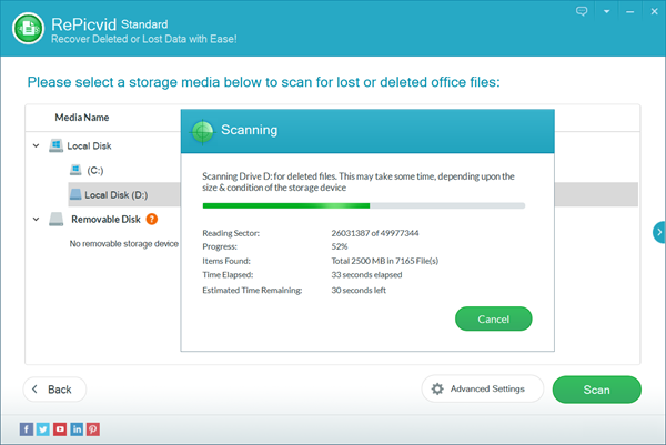Recover Deleted Photos with 100% Free Software on Windows/Mac