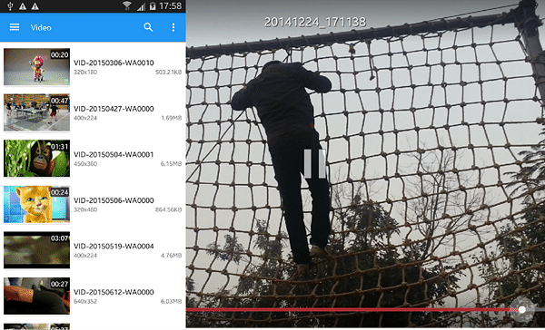 Slow Motion Frame Video Player is one of the top slow motion video Apps for Android.