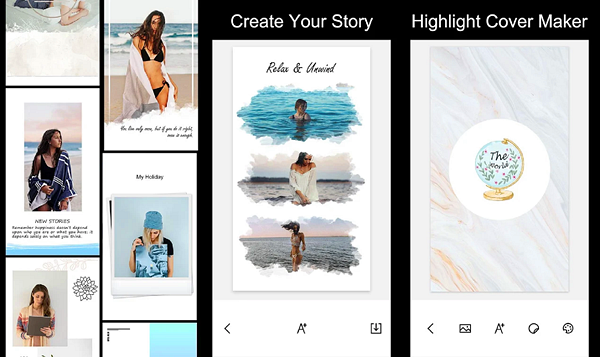 StoryArt is one of the best Instagram Story Template Apps for Android.