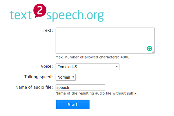 Text 2 Speech is one of the best Text to Speech Apps and Tools for Android.