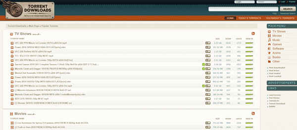 Torrents.me is one of the top Torrent sites for software downloading.