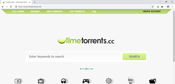 LimeTorrents is one of the top Torrent sites for software downloading.
